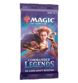 Wizards of the Coast Commander Legends Draft Booster