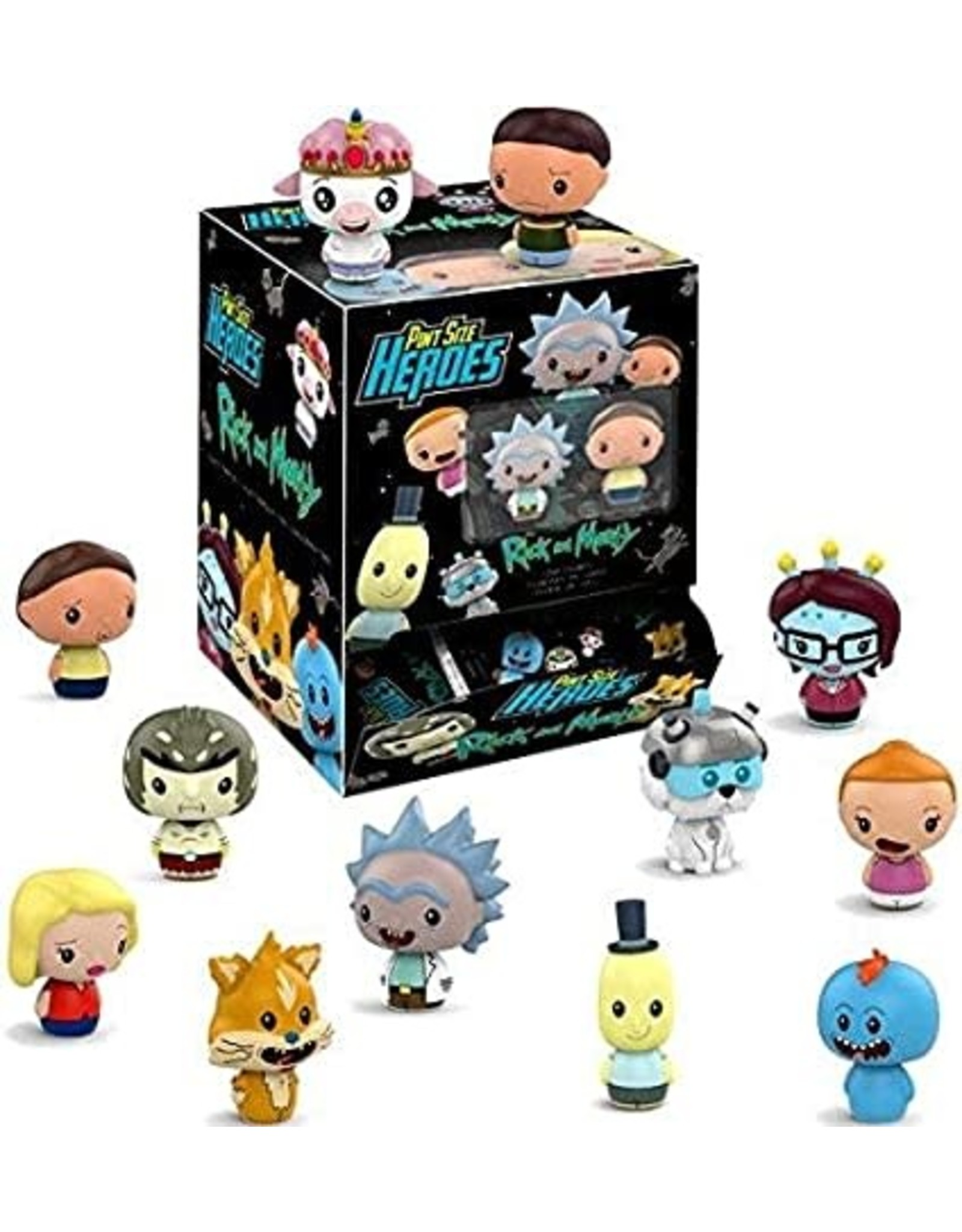 Pint Size Heroes - Rick & Morty