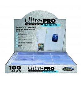 Ultra Pro Toploading 9-Pocket Silver Series (100 Standard)