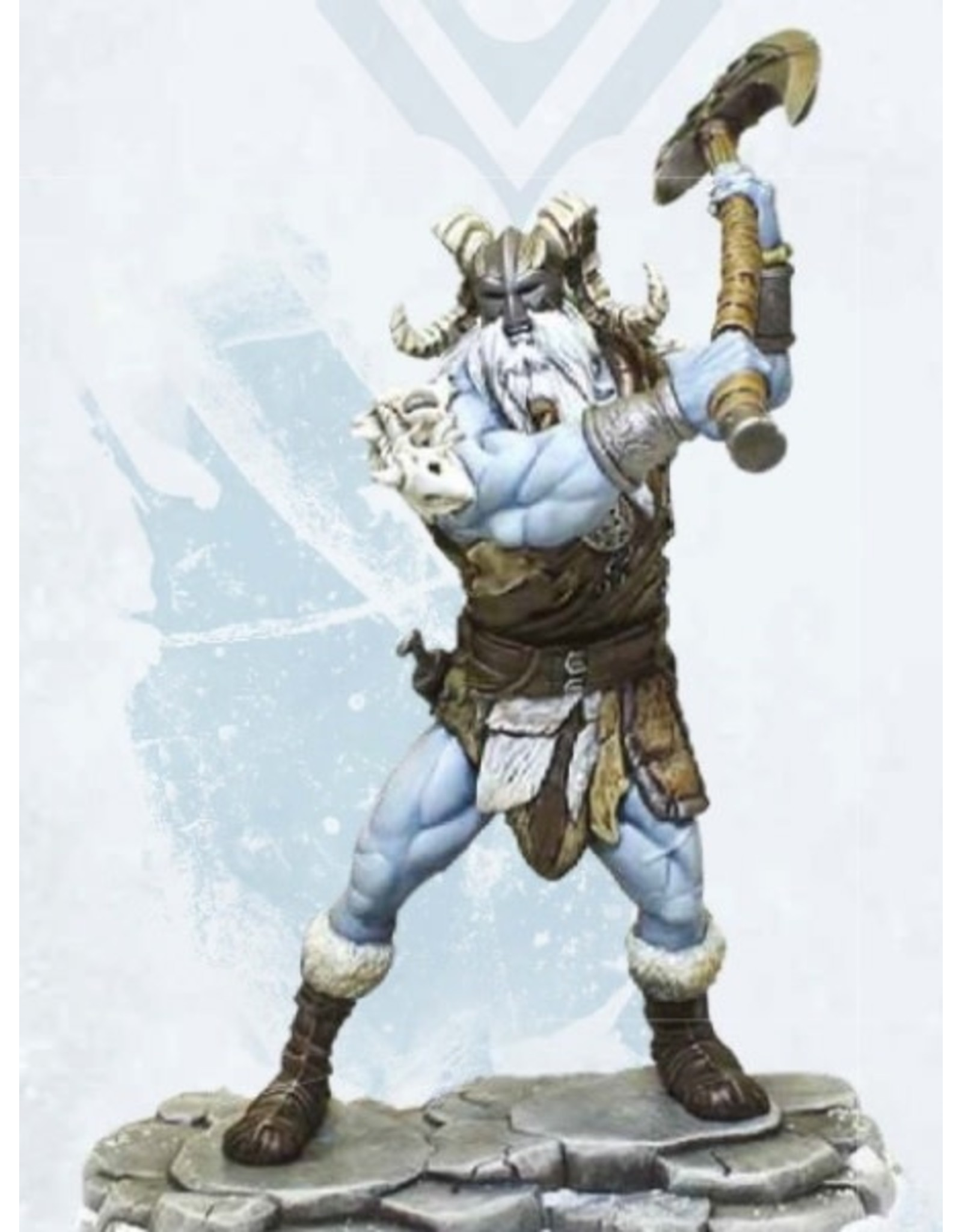 Gale Force 9 Dungeons & Dragons: Icewind Dale: Rime of the Frostmaiden Mini - Frost Giant Ravager
