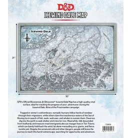 Gale Force 9 Dungeons & Dragons: Icewind Dale Map (31 x21 in)
