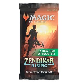 Wizards of the Coast Zendikar Rising Set Booster Pack