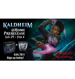 Wizards of the Coast Kaldheim Prerelease (Kit + 2 Boosters)
