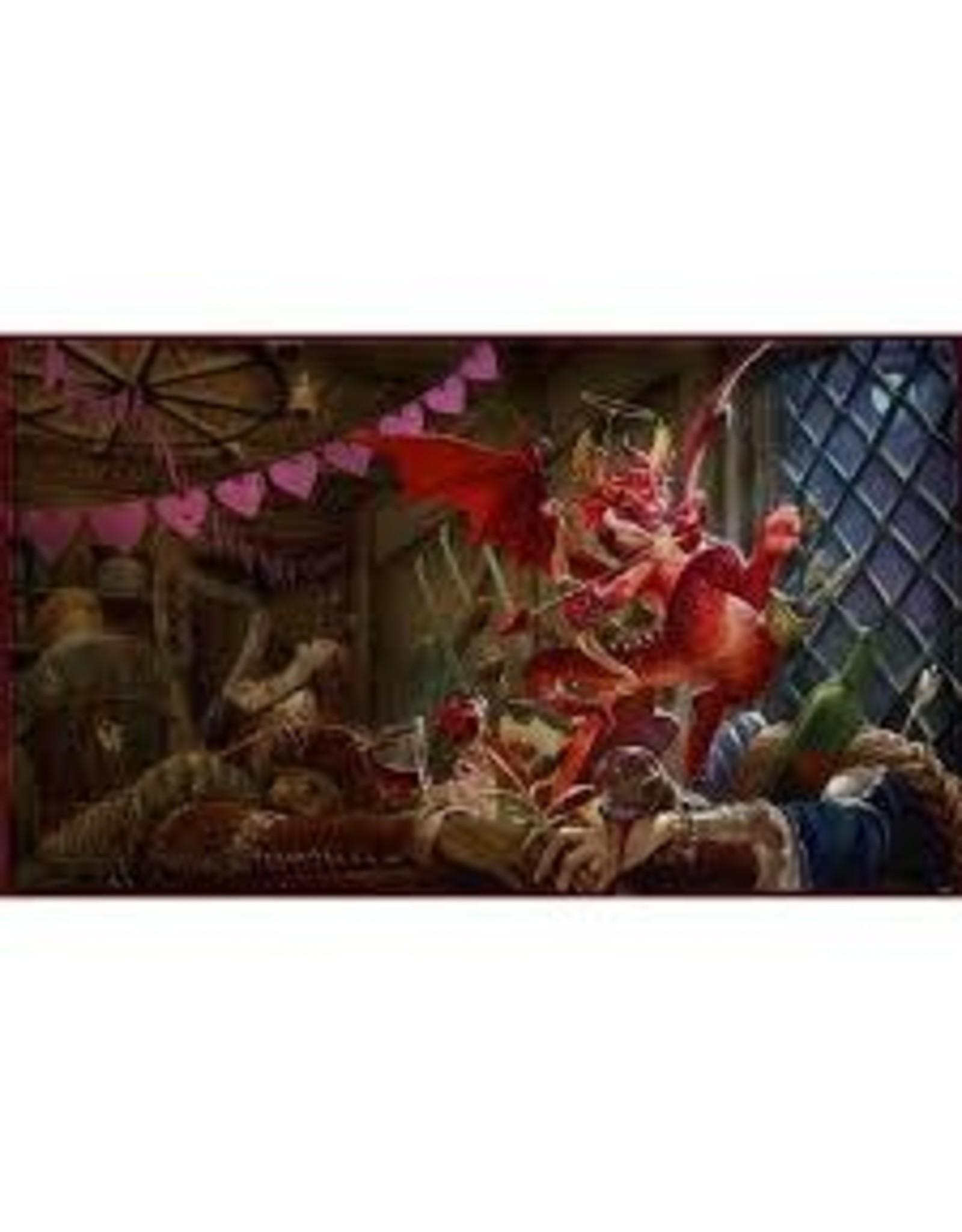Arcane Tinmen Dragon Shield Playmat Christmas Dragon