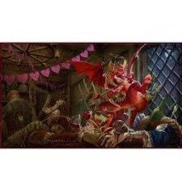 Arcane Tinmen Dragon Shield Playmat Christmas Dragon