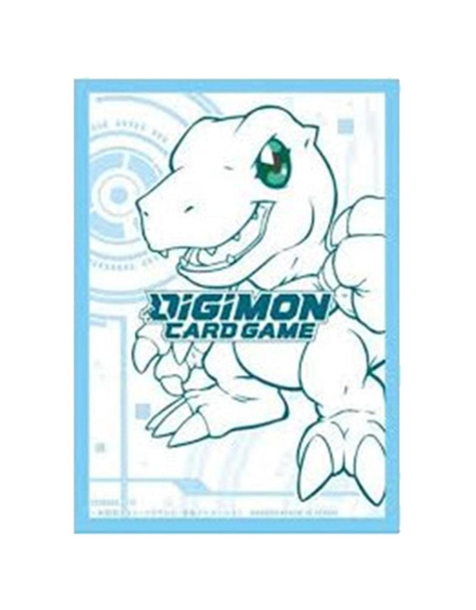 Bandai Digimon Sleeves - Agumon (60CT)