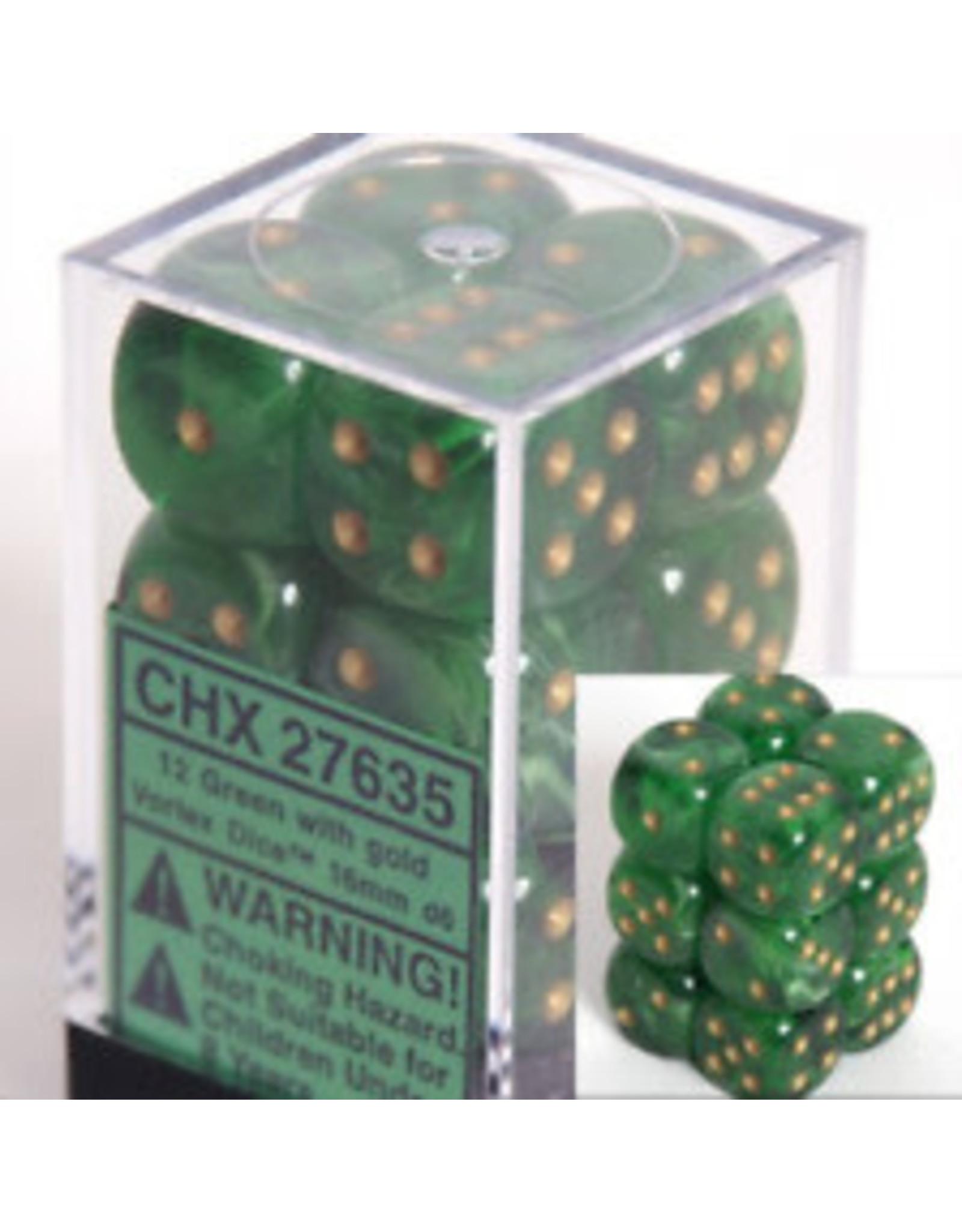 Chessex Chessex Vortex 16mm (12d6)