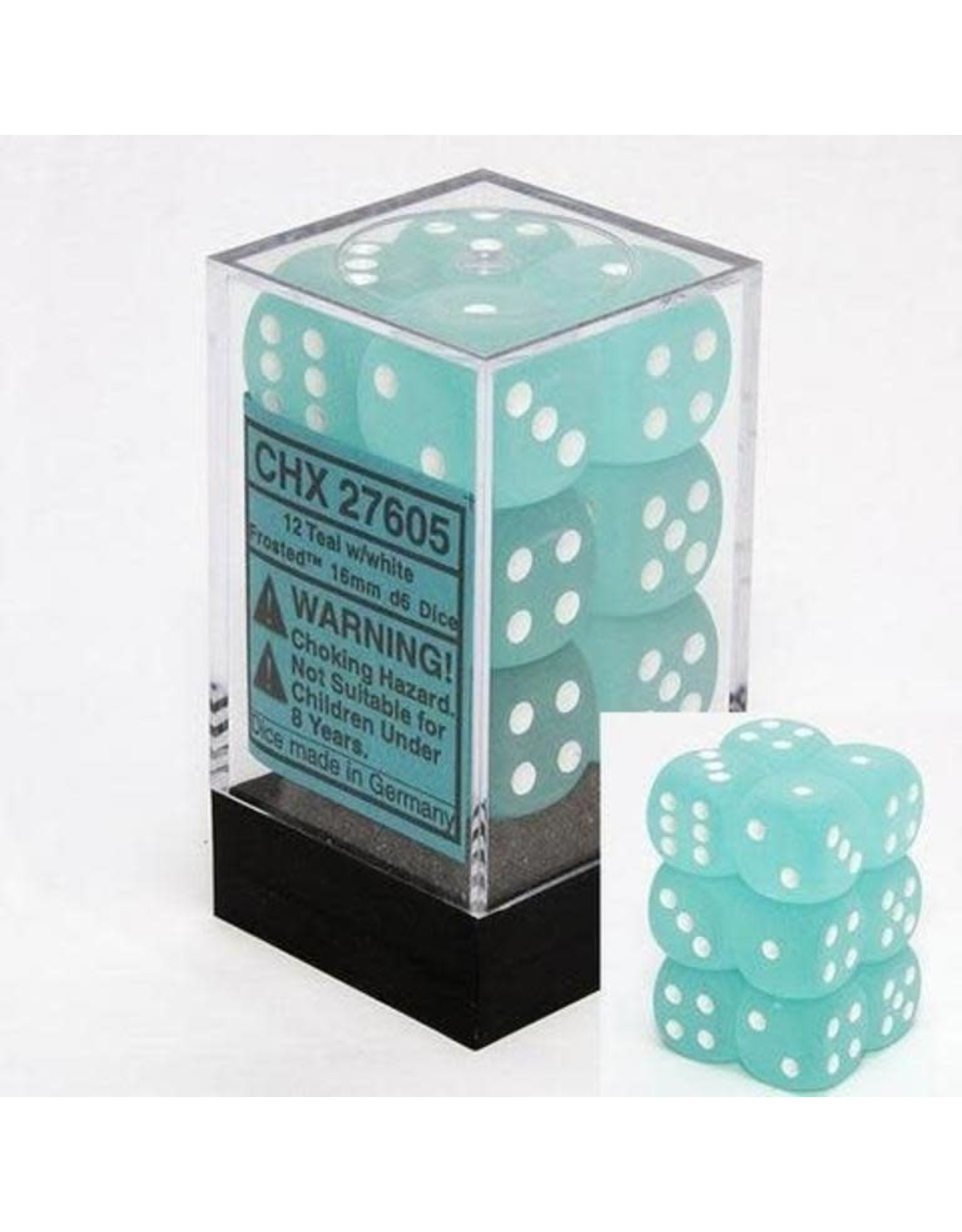 Chessex Chessex Frosted 16mm (12d6)