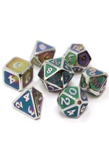 Die Hard Dice Die Hard Metal RPG Dice Set - Mythica