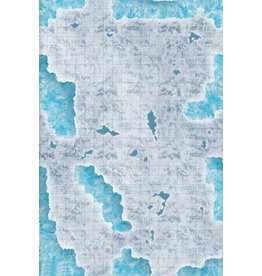 """Gale Force 9 Dungeons and Dragons Battlefield:  Caverns of Ice Encounter Map (30"""" x 20"""")"""