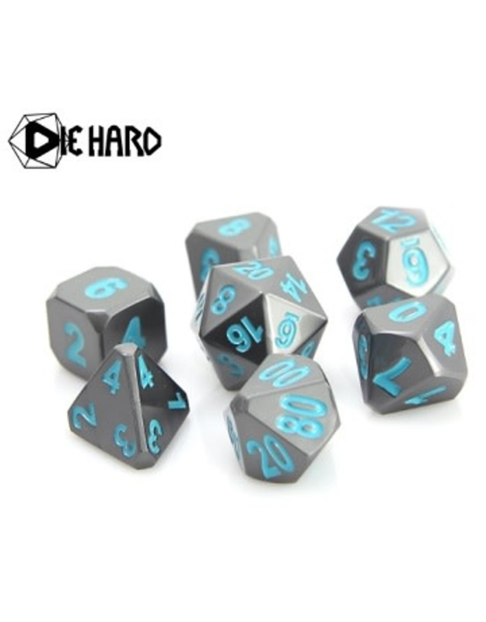 Die Hard Dice Die Hard Metal RPG Dice Set - Gunmetal