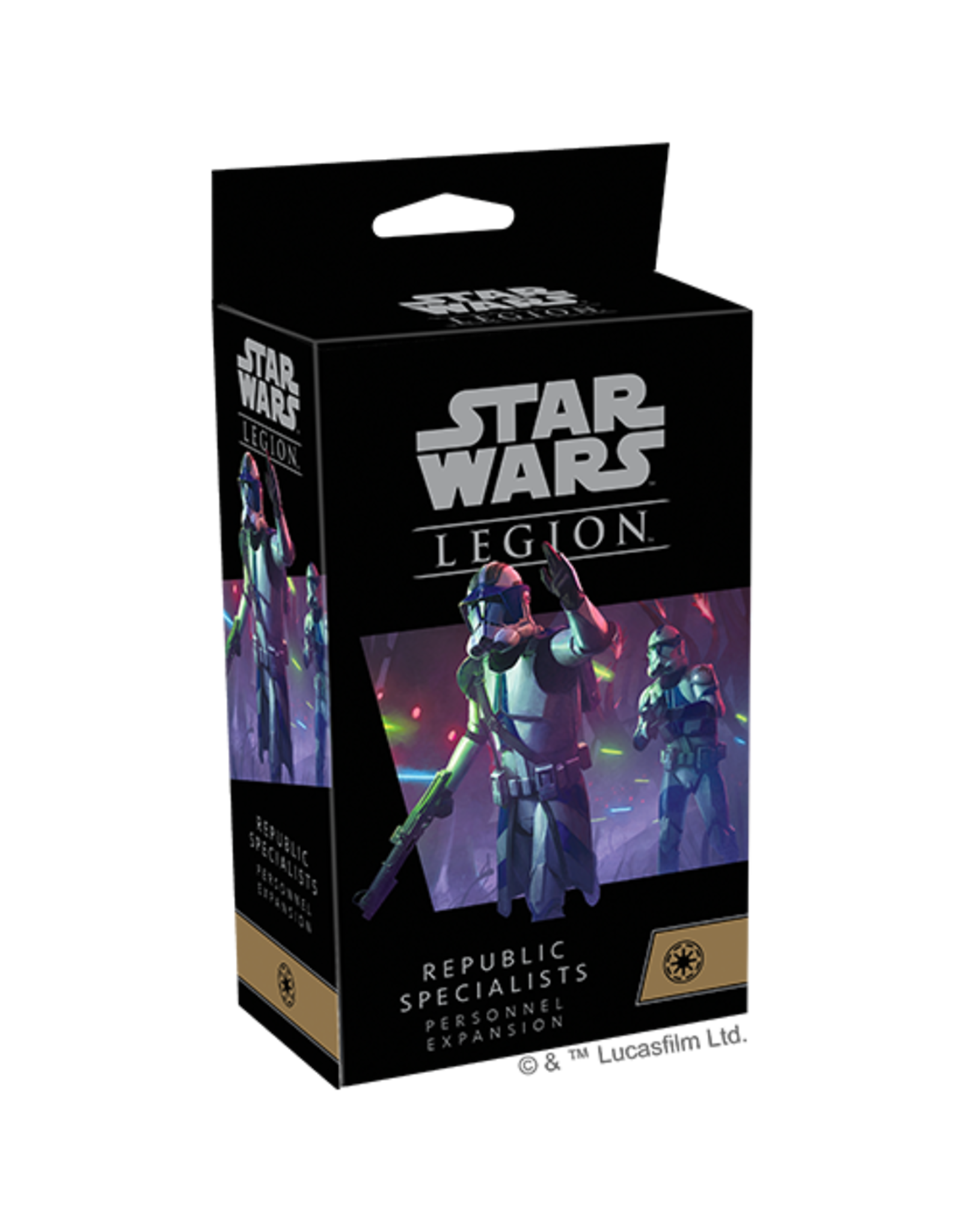 Fantasy Flight Star Wars Legion: Republic Specialists Personnel Expansion