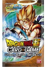 Bandai Dragonball Super Unison Warriors 3 Booster Box