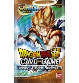 Bandai Dragonball Super Unison Warriors 3: Vicious Rejuvenation Booster Box