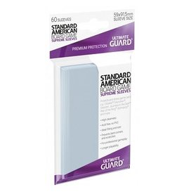 Ultimate Guard Ultimate Guard Supreme Board Game Sleeves Standard American  59x91.5