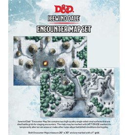 """Wizards of the Coast Icewind Dale Encounter Map (20"""" x 30"""")"""