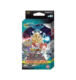 Bandai Dragonball Super Unison Warriors 3 Premium Pack single