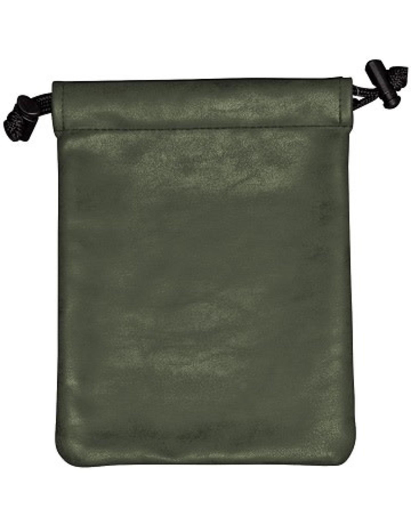 Ultra Pro UP Dice Bag Suede Emerald Treasure Nest