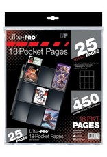Ultra Pro UP Binder Pages Silver Series 18 - Pocket