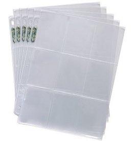 Ultra Pro UP Binder Pages Silver 9 - Pocket (25)