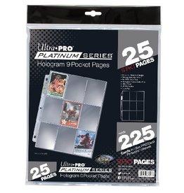 Ultra Pro UP Binder Pages Platinum Series 9 - Pocket (25)