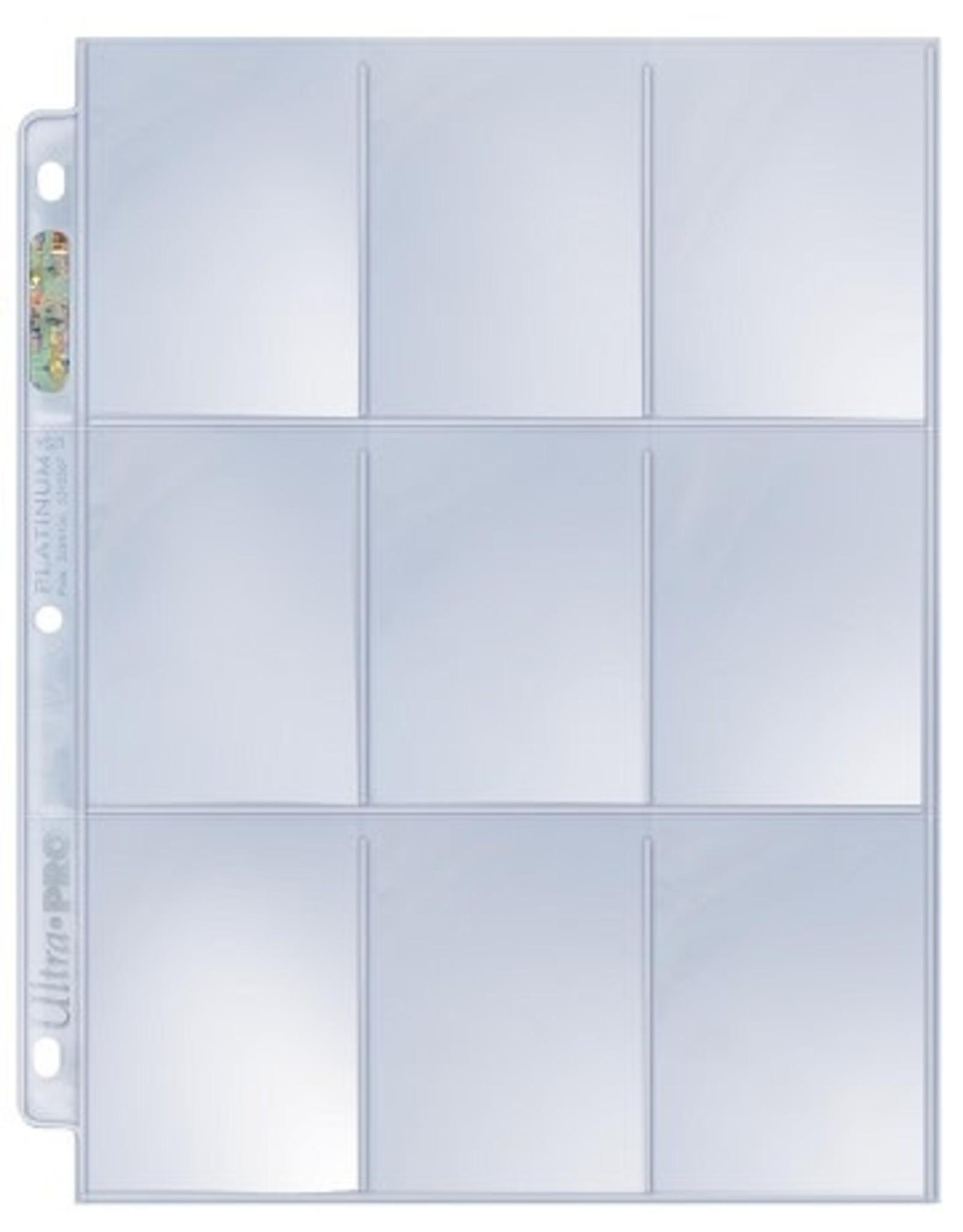 Ultra Pro UP Binder Pages Hologram 9 - Pockets (100)