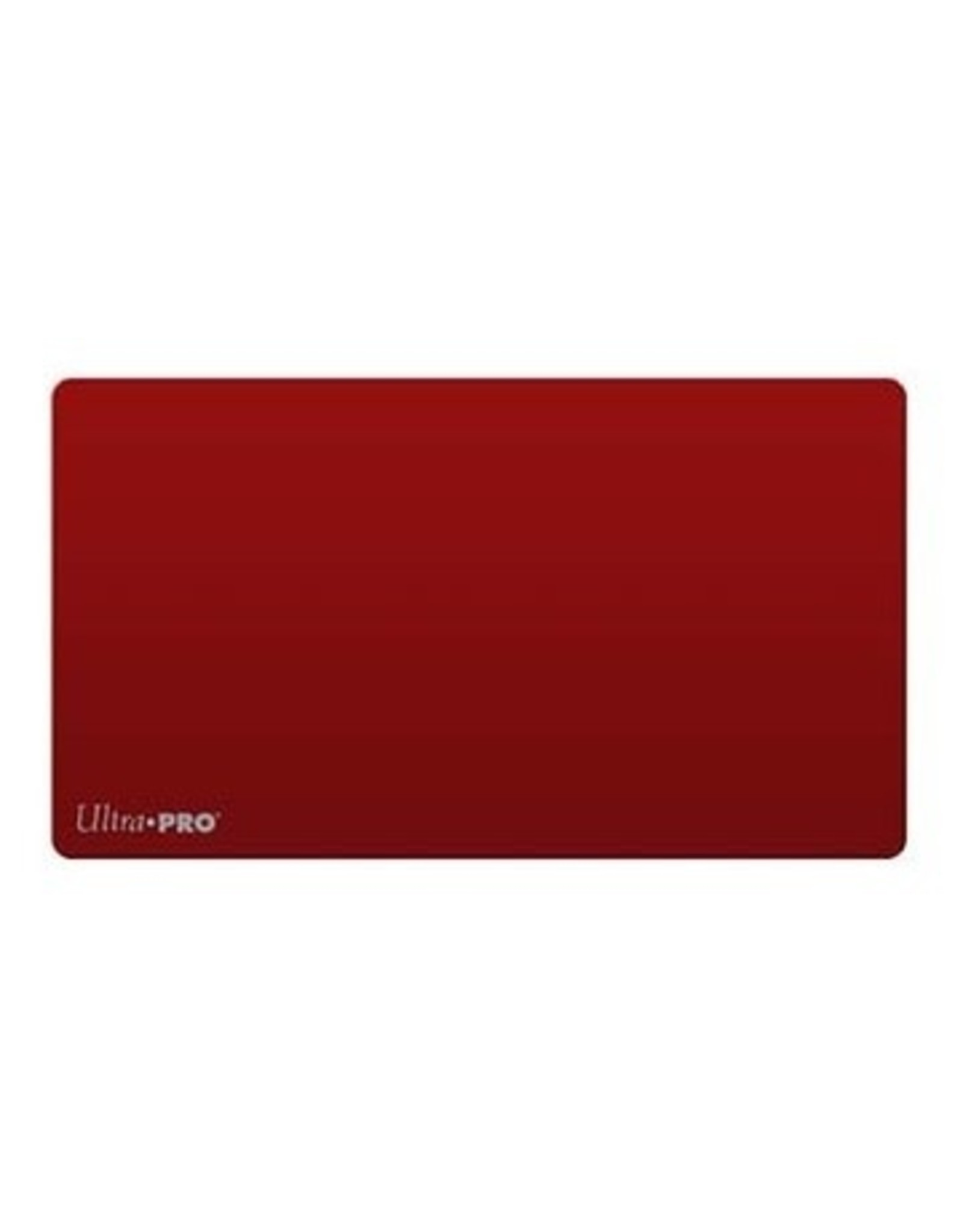 Ultra Pro Ultra Pro Artist Playmat: Solid Red