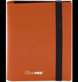 Ultra Pro Ultra Pro Pro Eclipse Binder Pumpkin Orange (2Pkt)