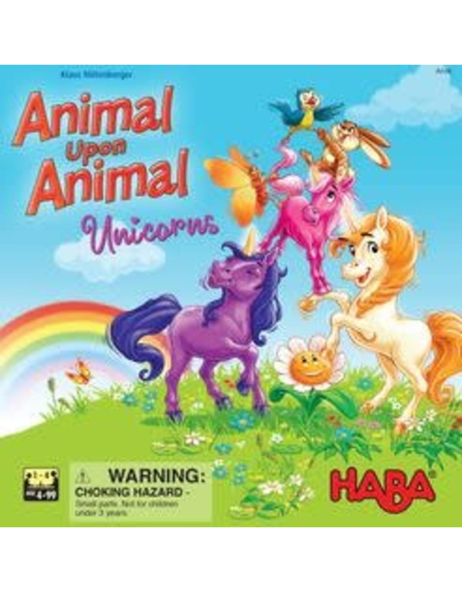 Haba Animal Upon Animal - Unicorns