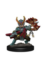 WizKids Icons of the Realm Halfing Fighter Female Prem Fig