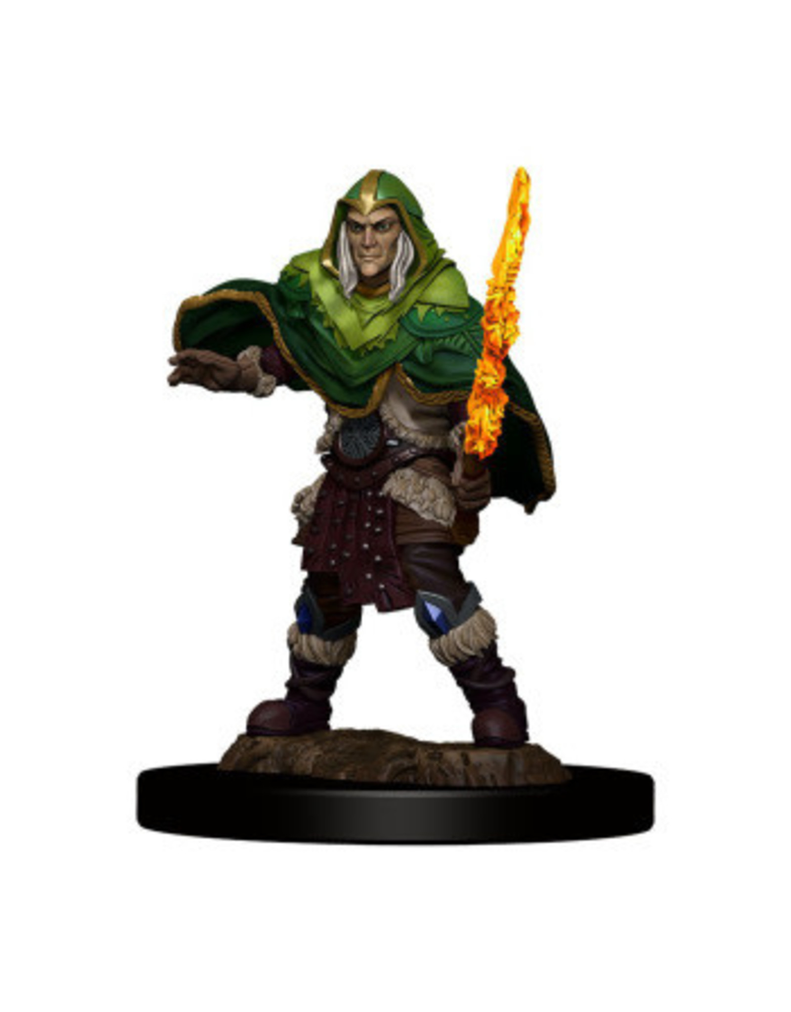 WizKids Icons of the Realm Elf Fighter Male Prem Fig