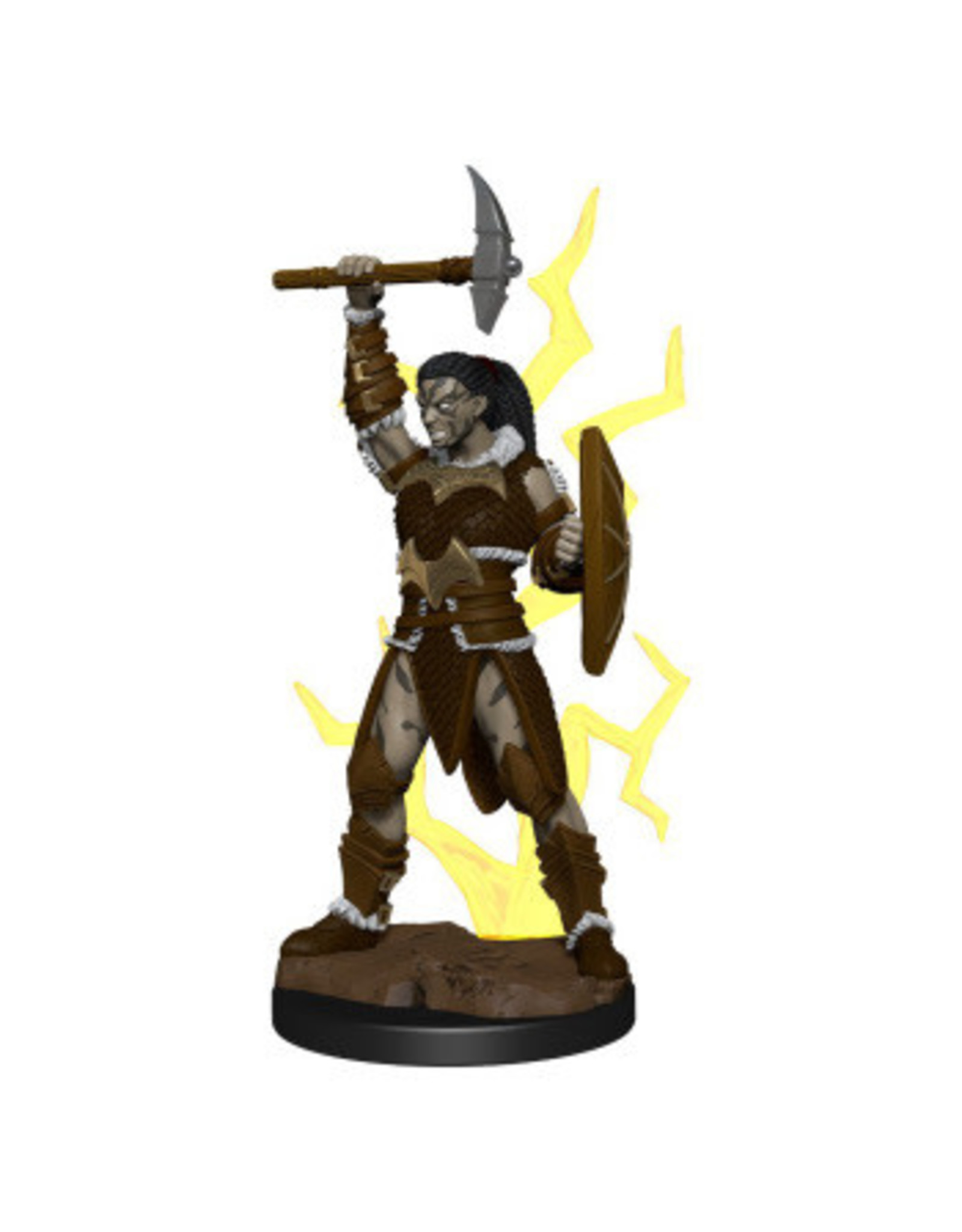 WizKids Icons of the Realm Goliath Barbarian Female Prem Fig