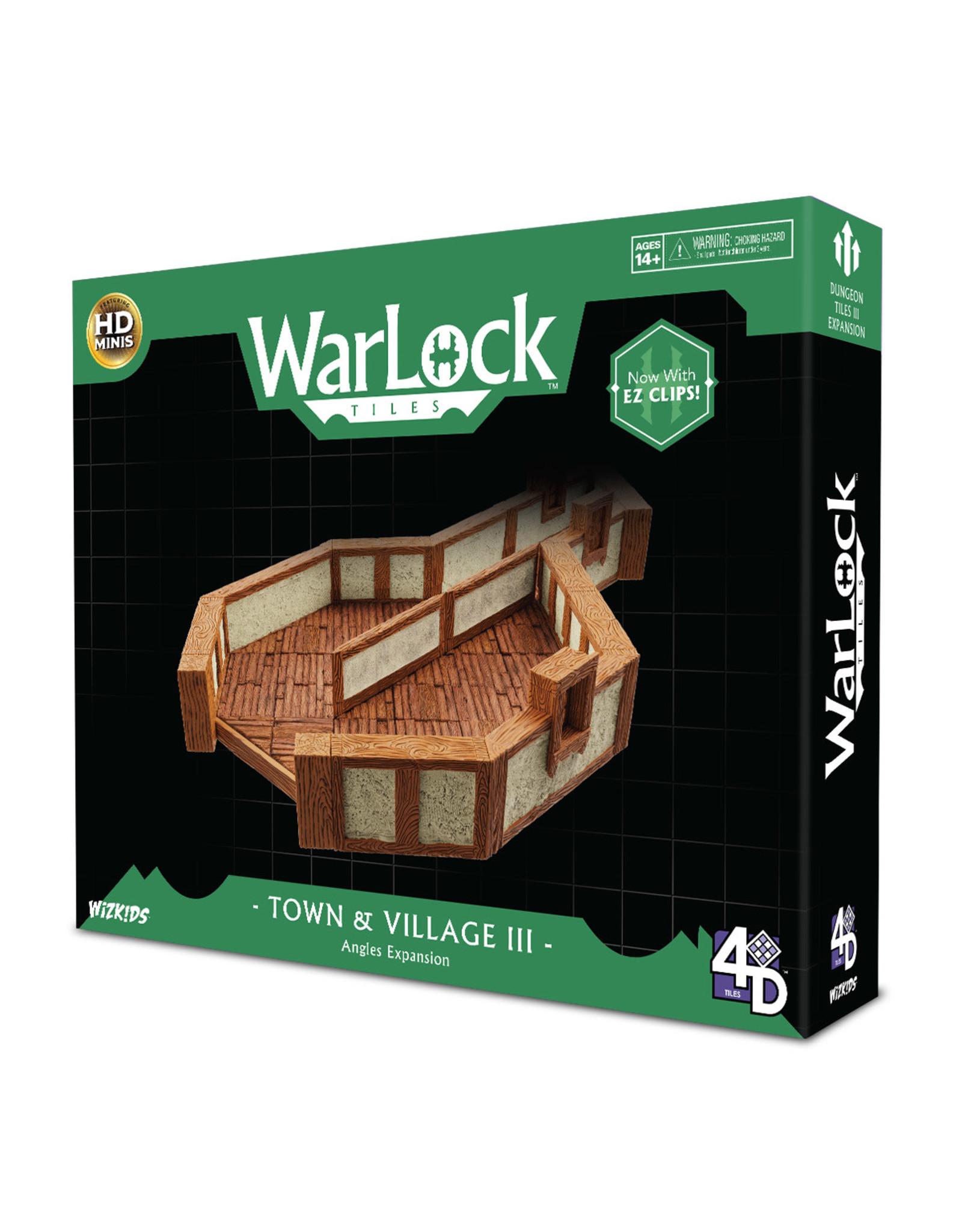 WizKids Warlock Dungeon Tiles: Towns/Village 3 - Angles