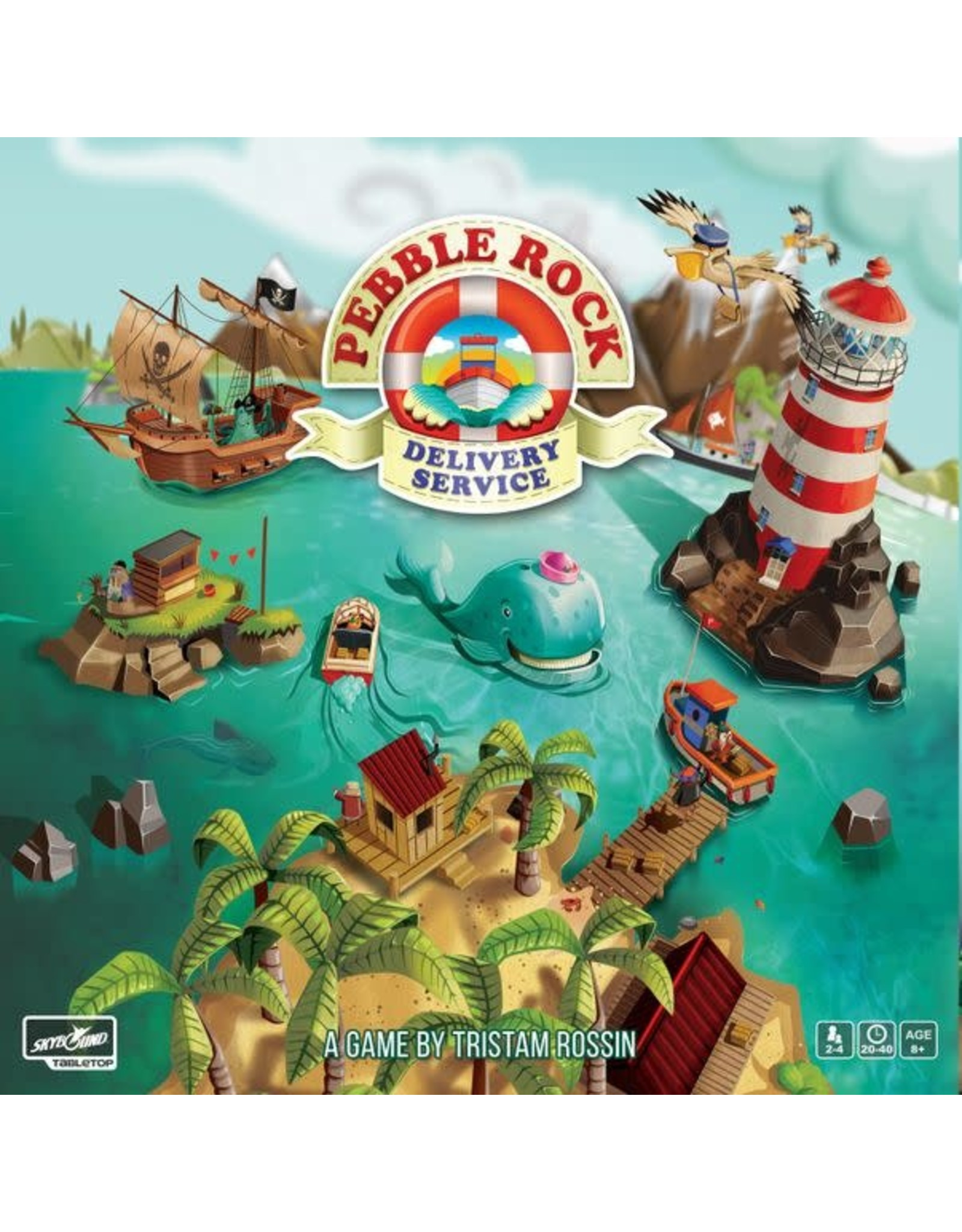 Skybound Games Pebble Rock Delivery Service