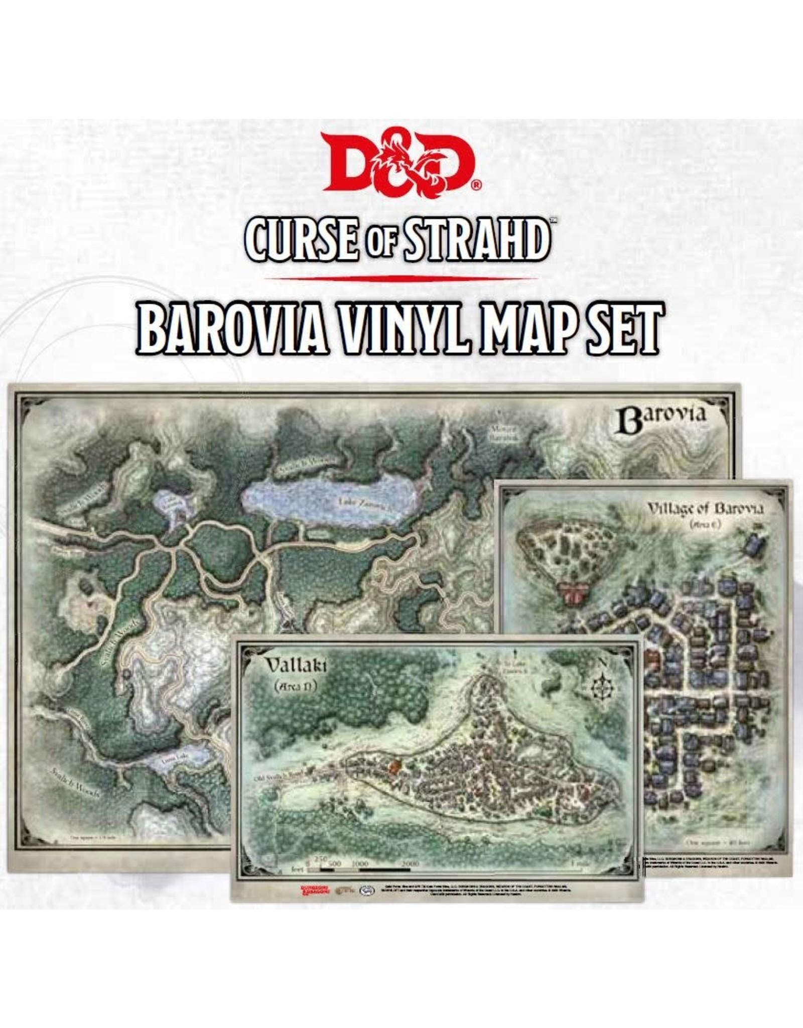 Gale Force 9 Curse of Strahd Barovia Map Set