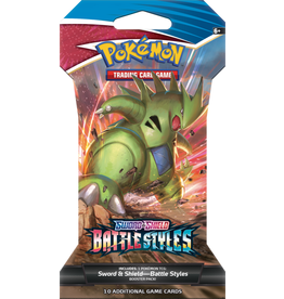 Pokemon Battle Styles Sleeved Booster