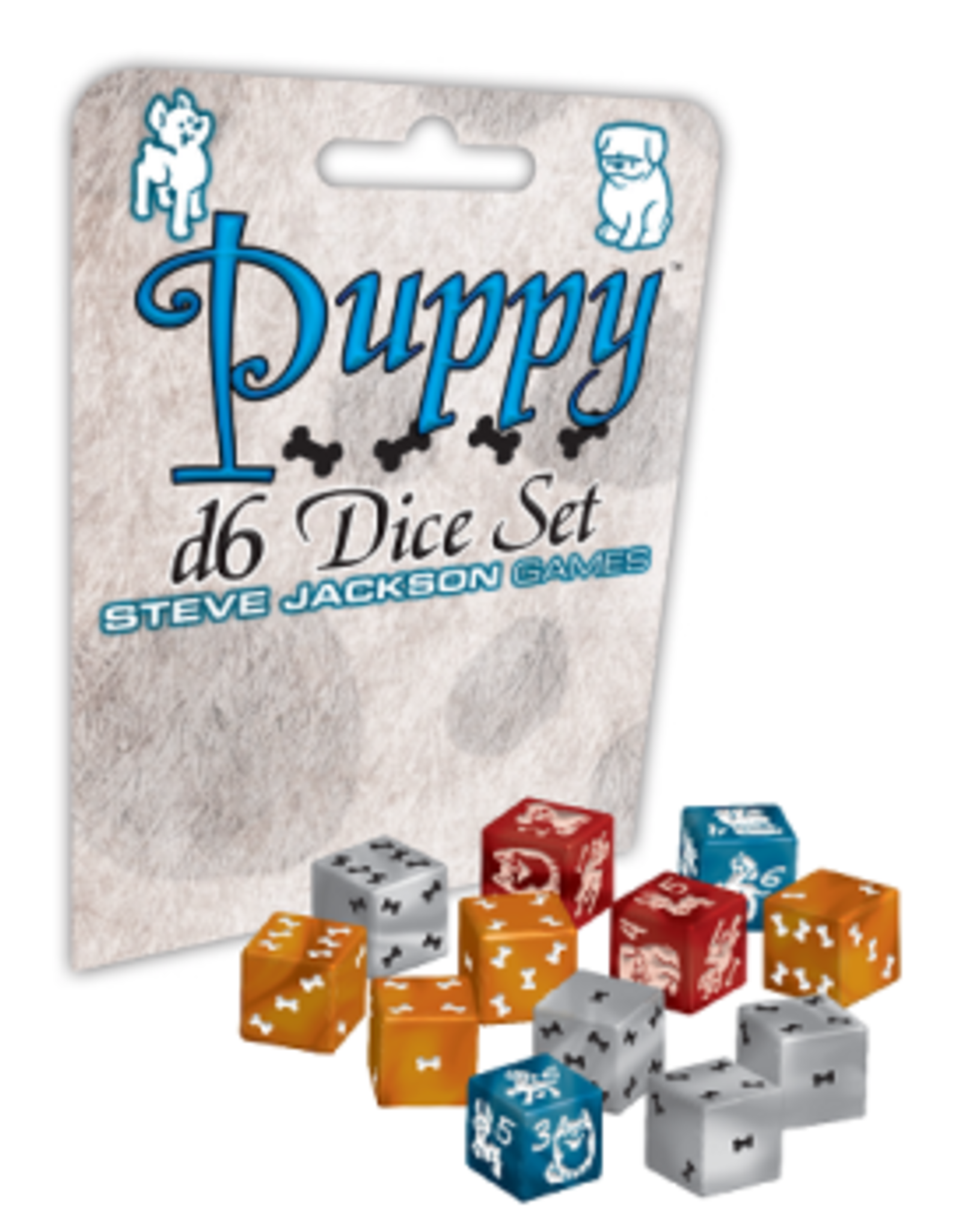 Steve Jackson Games Puppy Dice D6