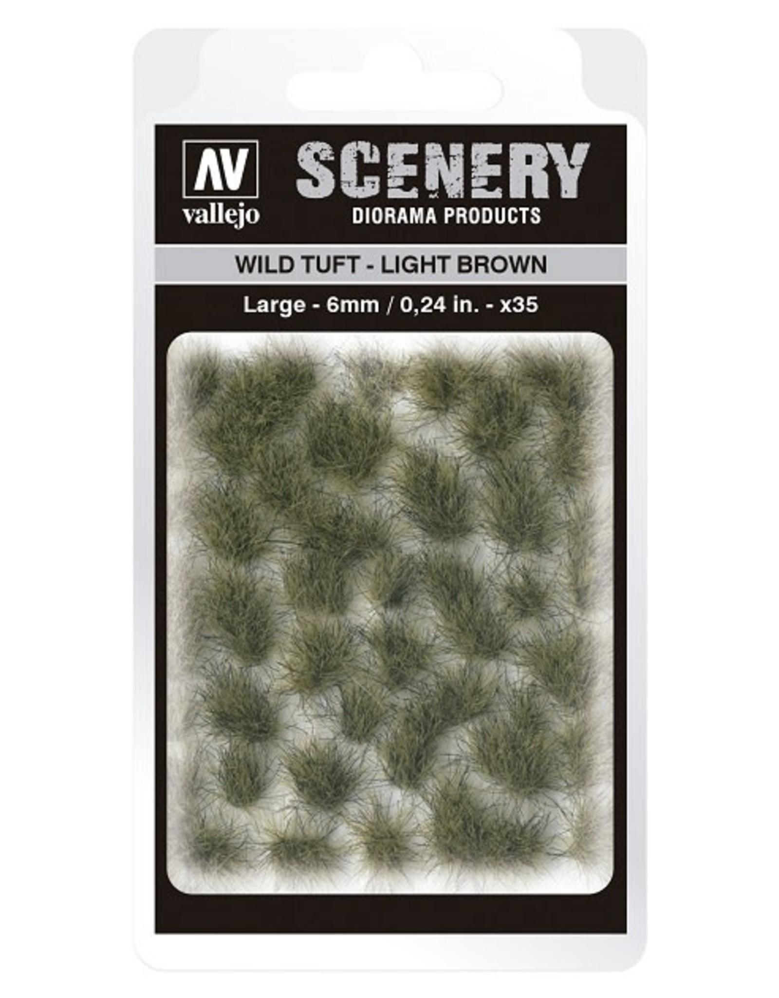 Vallejo Vallejo: Scenery -  Wild Tuft - Light Brown Large 6mm