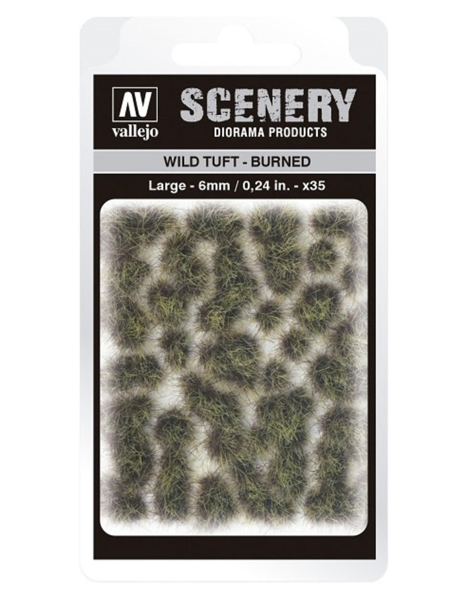 Vallejo Vallejo: Scenery - Wild Tuft - Burned Large 6mm