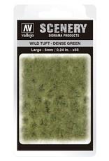 Vallejo Vallejo: Scenery -  Wild Tuft - Dense Green Large 6mm