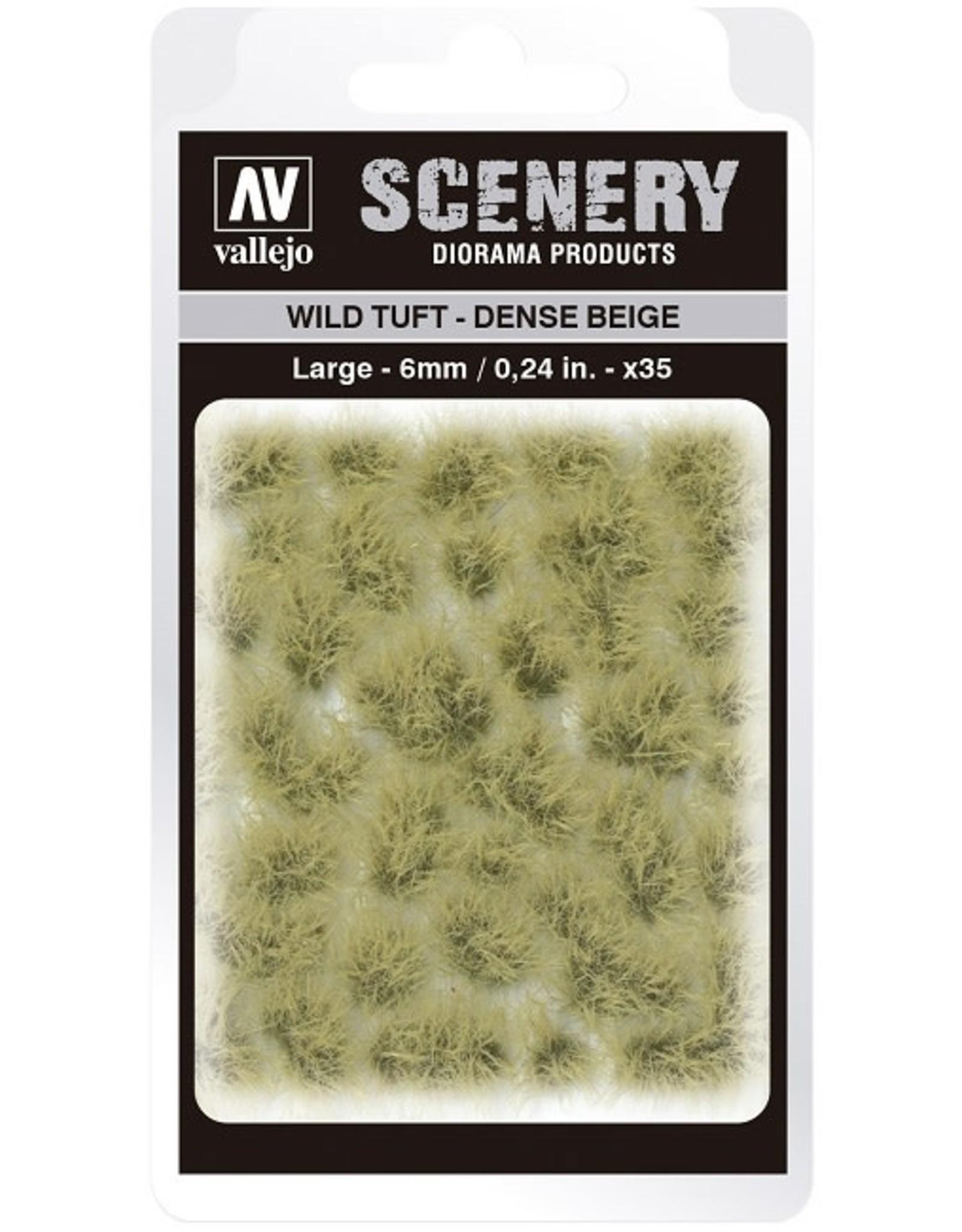 Vallejo Vallejo: Scenery -  Wild Tuft - Dense Beige Large 6mm