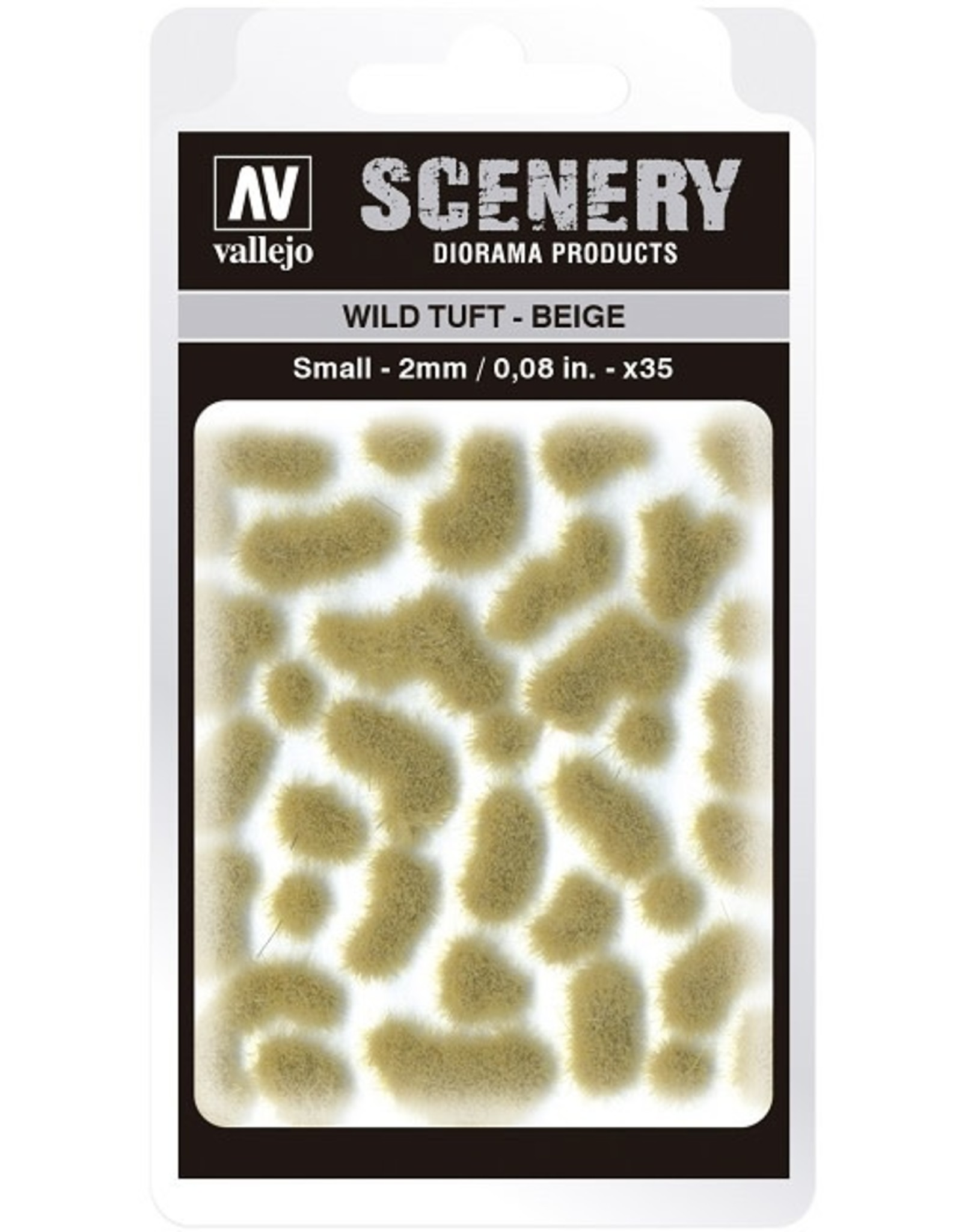 Vallejo Vallejo: Scenery - Wild Tuft - Beige Small 2mm