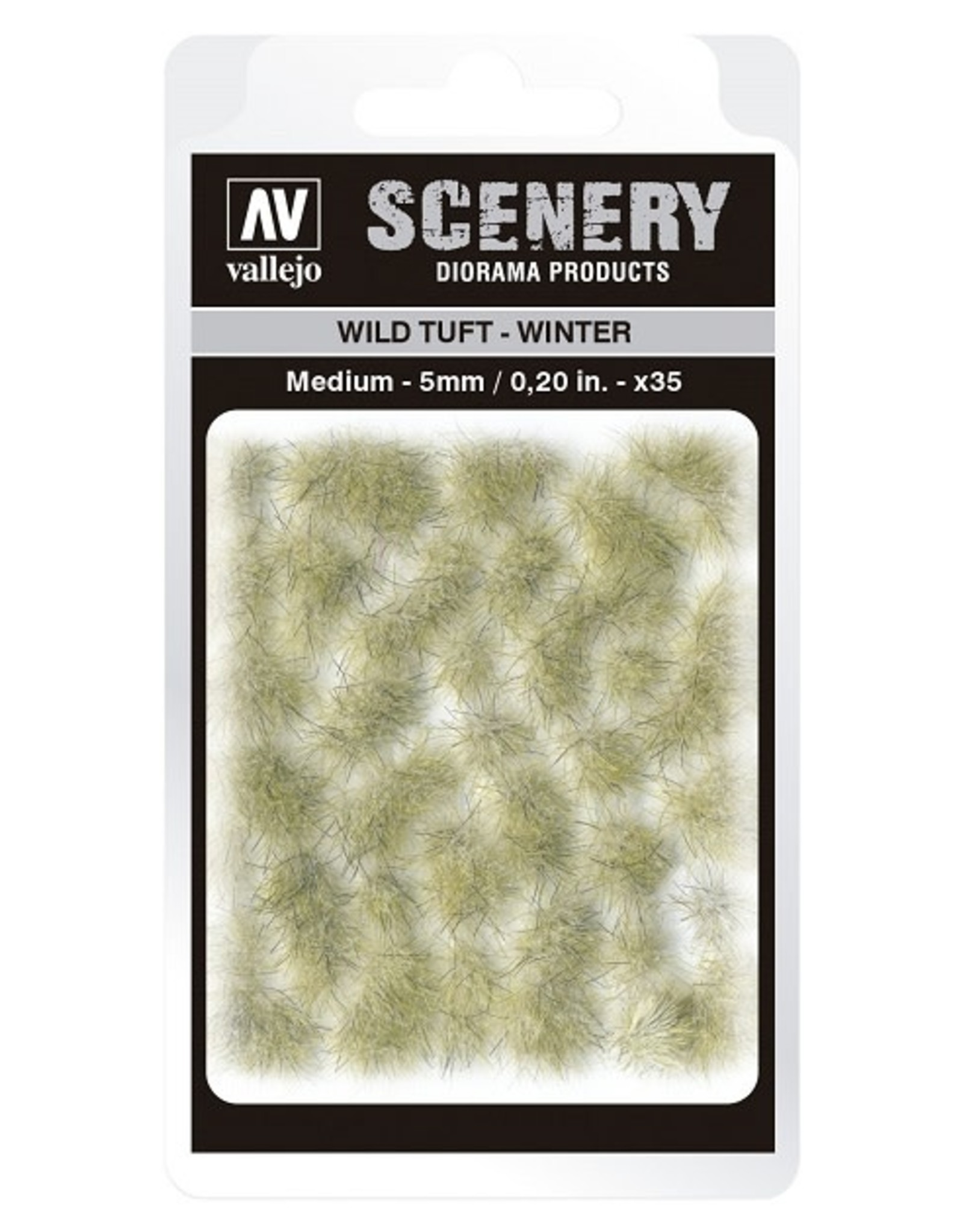 Vallejo Vallejo: Scenery -  Wild Tuft - Winter Medium 5mm
