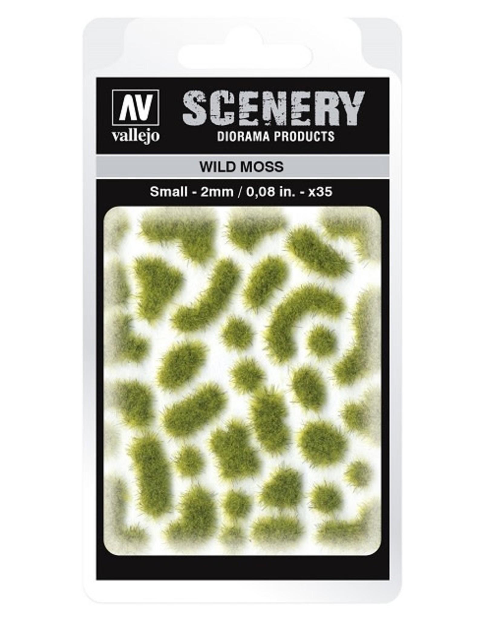 Vallejo Vallejo: Scenery - Wild Moss Small 2mm