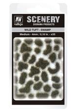 Vallejo Vallejo: Scenery - Wild Tuft - Swamp Medium 4mm