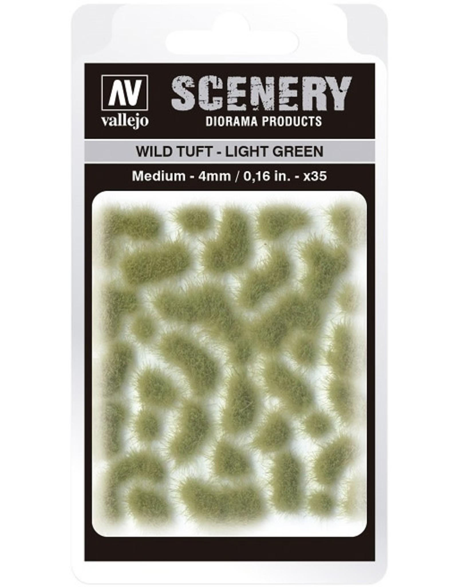 Vallejo Vallejo: Scenery - Wild Tuft - Light Green Medium 4mm
