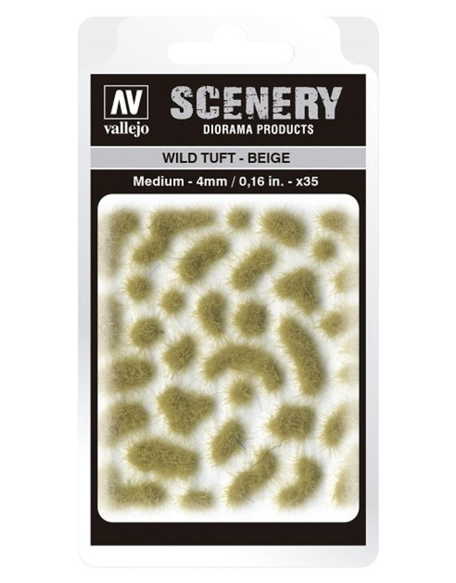 Vallejo Vallejo: Scenery - Wild Tuft - Beige Medium 4mm