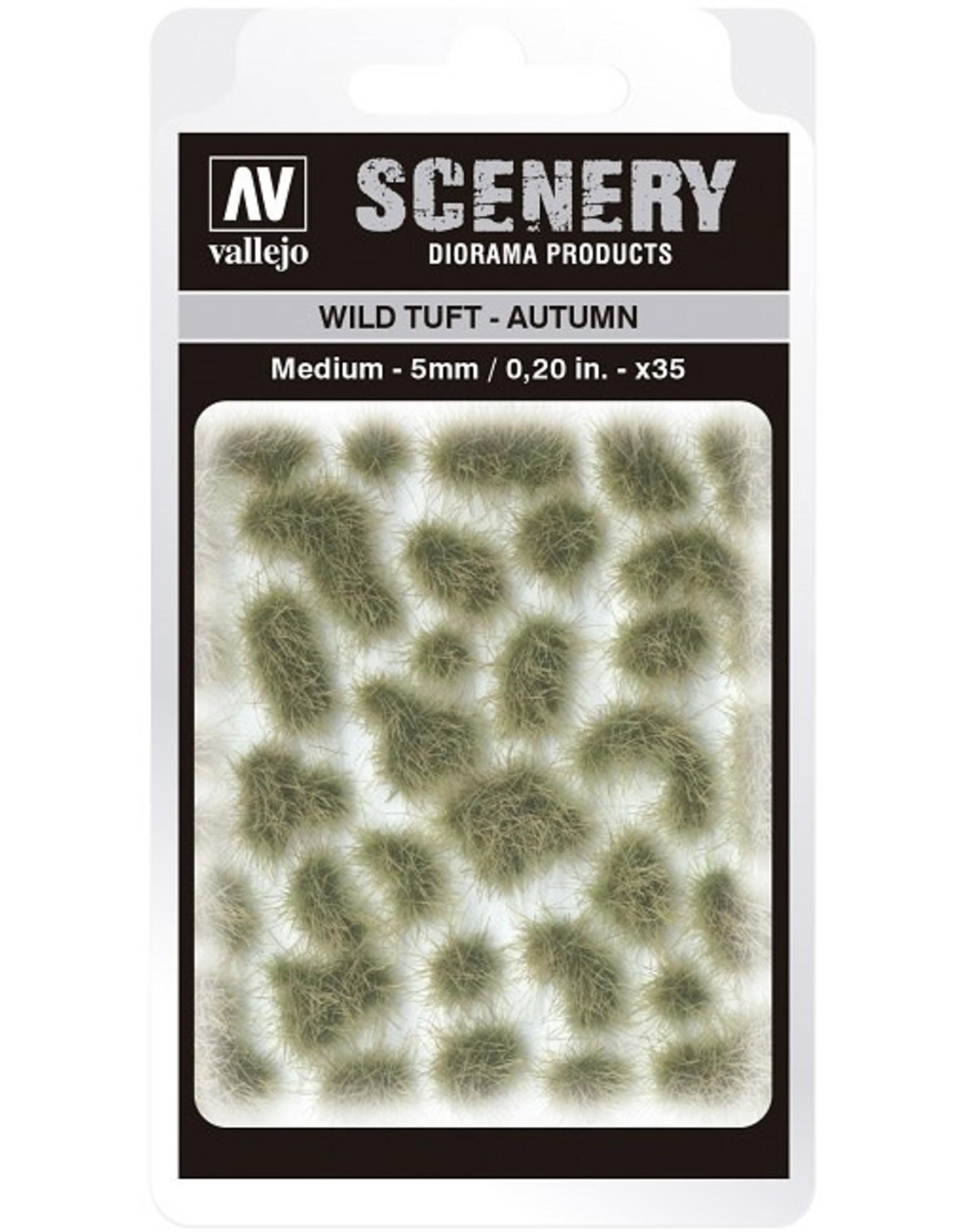 Vallejo Vallejo: Scenery - Wild Tuft - Autumn Medium 5mm