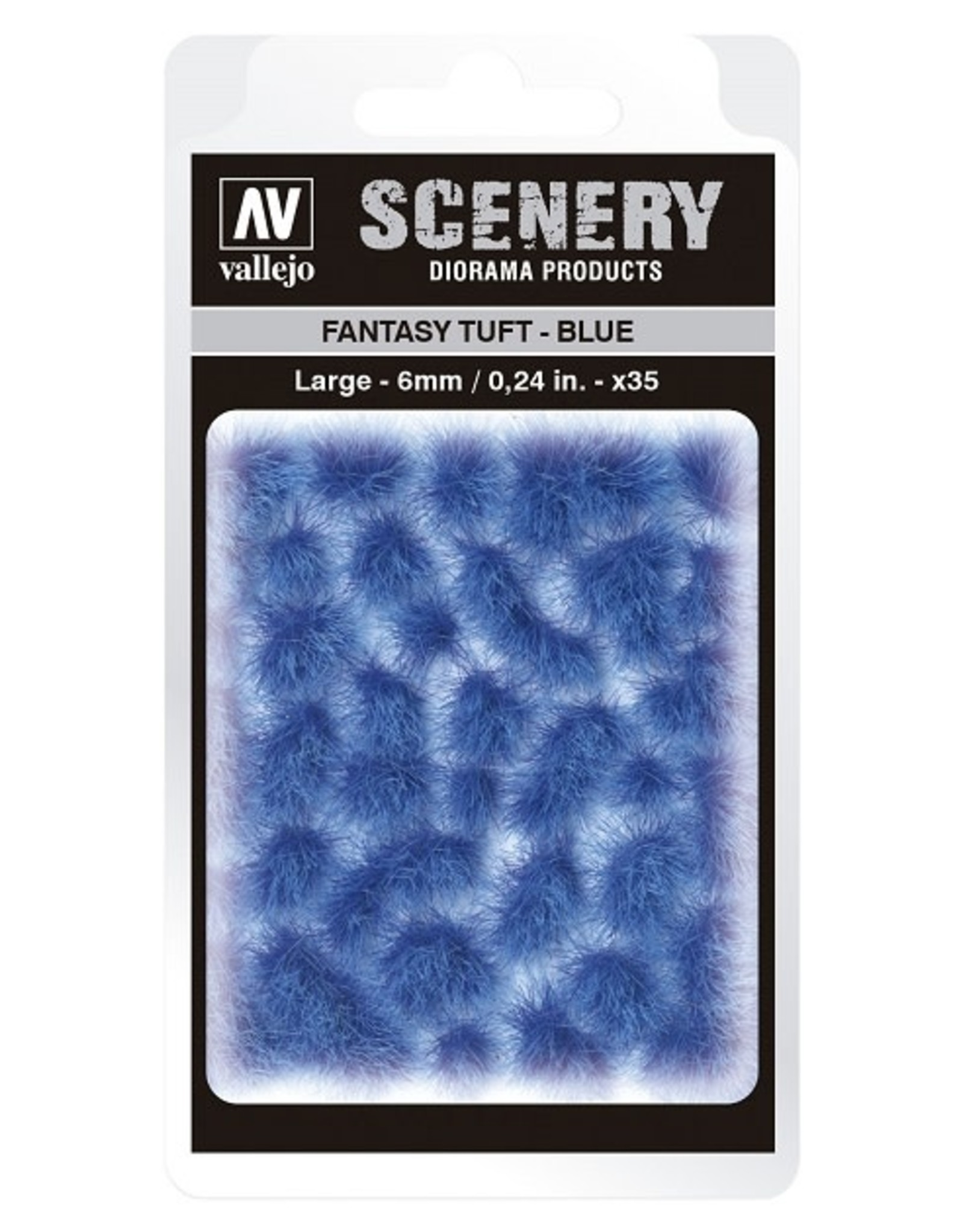 Vallejo Vallejo: Scenery - Fantasy Tuft - Blue Large 6mm