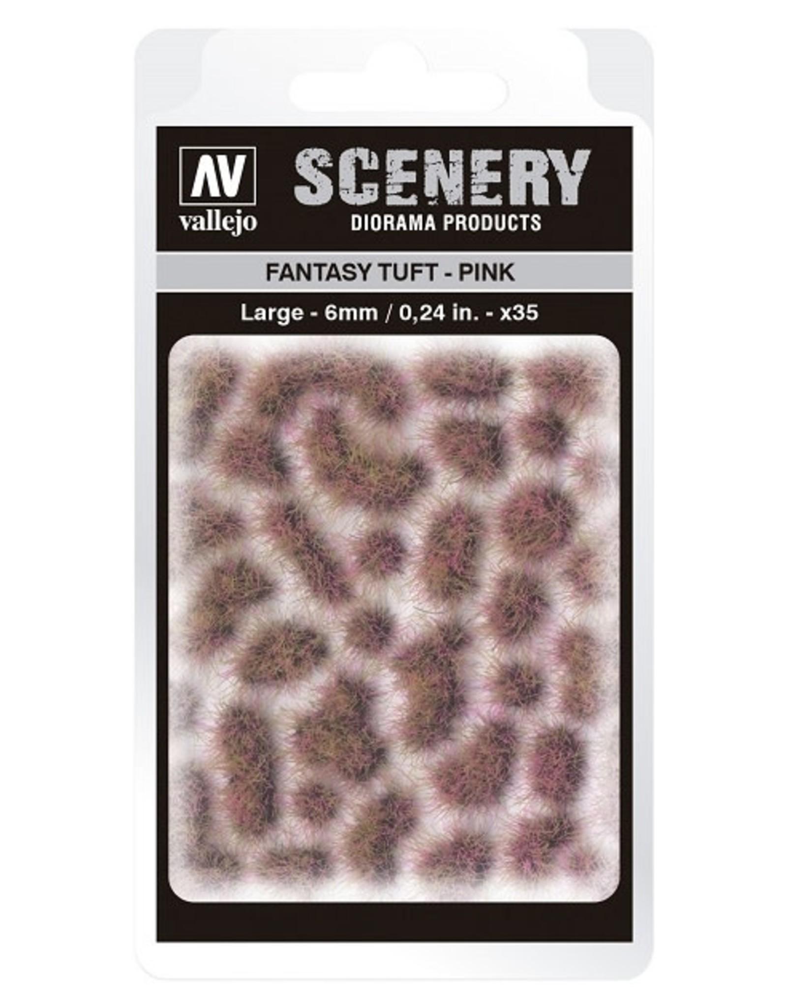 Vallejo Vallejo: Scenery - Fantasy Tuft - Pink Large 6mm